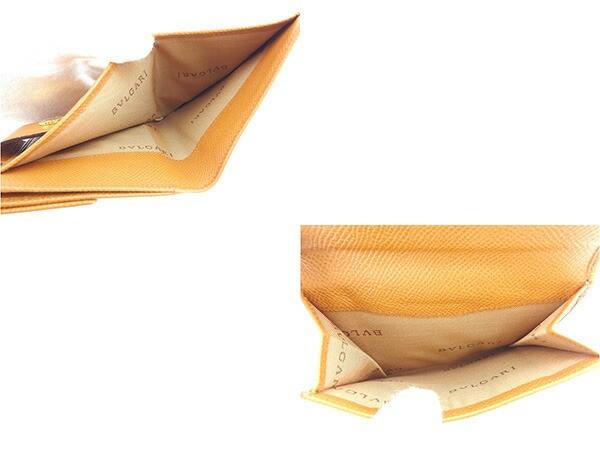 ブルガリ BVLGARI Wホック財布 二つ折り財布 ブルガリブルガリ良品 セール【中古】 Y5316