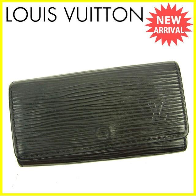 ルイヴィトン LOUIS VUITTON キーケース /4連 メンズ可 /ミュルティクレ4 エピ人気 セール【中古】 Y5841