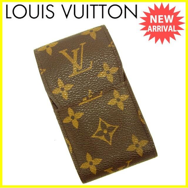 ルイヴィトン Louis Vuitton シガレットケース タバコケース レディース エテュイシガレット モノグラム良品 セール【中古】 Y3527