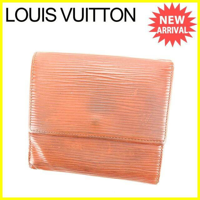 ルイ ヴィトン Louis Vuitton Wホック財布 ポルトモネビエカルトクレディ エピ 人気 セール【中古】 Y6120