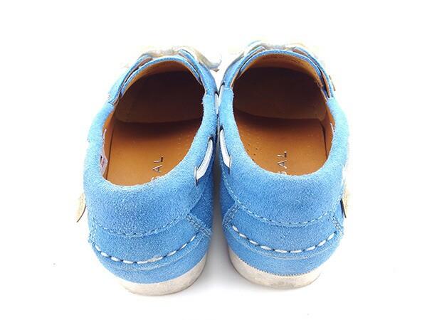 リーガル REGAL シューズ 靴 レディース ♯22ハーフ デッキシューズ 美品 セール【中古】 Y6169