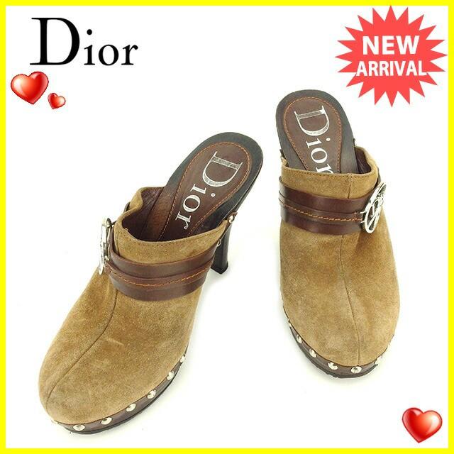 ディオール Dior サンダル シューズ 靴 レディース ♯35 ハイヒール サボサンダル 人気 セール【中古】  T1815の通販はWowma!(ワウマ) , ブランドデポ|商品ロット