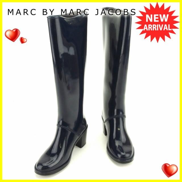 マークバイ マークジェイコブス MARC BY MARC JACOBS ブーツ シューズ 靴 レディース ♯35 レイン ロング [中古] 人気 セール T6111
