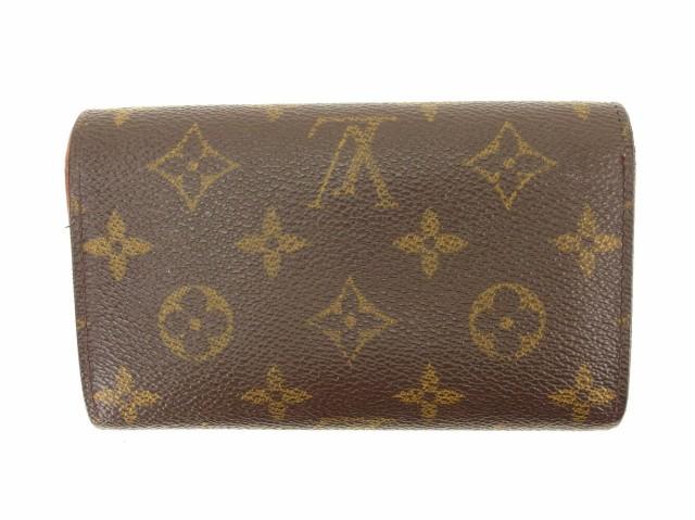ルイ ヴィトン Louis Vuitton L字ファスナー 財布 二つ折り メンズ可 ポルトモネビエトレゾール M61730 モノグラム [中古] 人気 セール T