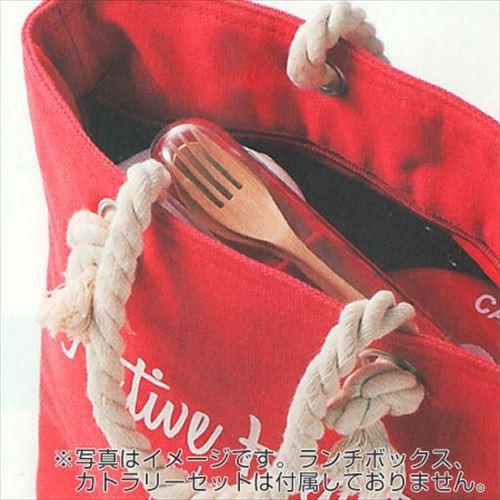 ランチトートバッグ Native Heart レッド [01]