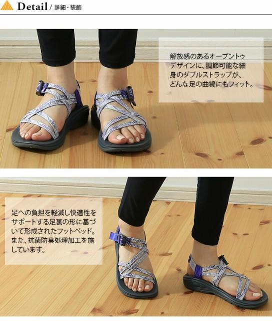 【10%OFF】チャコ サンダル Chaco Z/VOLV/X 【ウィメンズ】 靴 スポーツサンダル シューズ オープントゥ ストラップ フラット シンプル