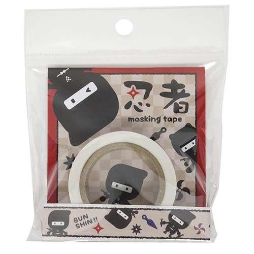 忍者[マスキングテープ]和紙デコテープ【メール便可】
