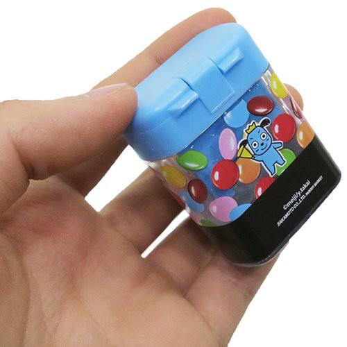 マーブルチョコレート[鉛筆削り]ダブル えんぴつけずり器おやつマーケット【メール便可】