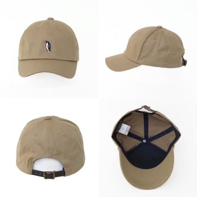 2個1000円引き/帽子/ペンギン刺繍キャップ/メンズレディース ccap0704