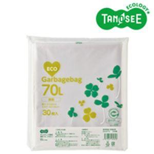 5000円以上送料無料 TANOSEE ポリエチレン収集袋 透明 70L 30枚入 生活用品・インテリア・雑貨 日用雑貨 ビニール袋