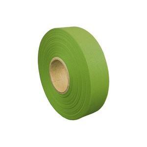 5000円以上送料無料 (業務用200セット) ジョインテックス カラーリボン黄緑 12mm*25m B812J-YG 生活用品・インテリア・雑貨 文具・オフィ