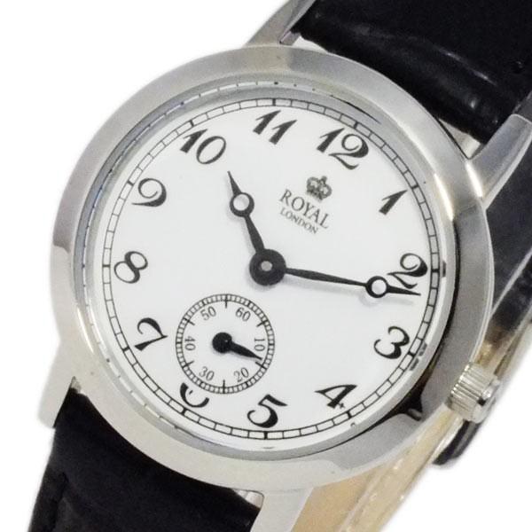 f3bac51819 レビューで次回2000円オフ 直送 ロイヤル ロンドン クオーツ レディース 腕時計 2006-02 ホワイト