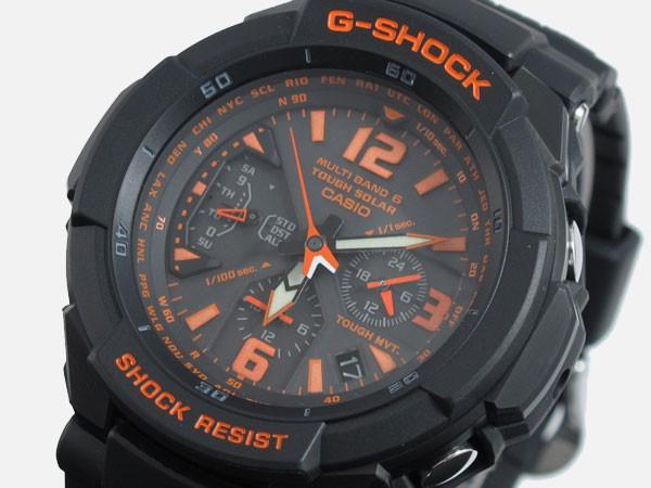レビューで次回2000円オフ 直送 カシオ CASIO Gショック G-SHOCK スカイコックピット 電波 腕時計 GW-3000B-1AJF 国内正規