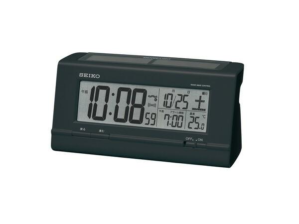 返品可 レビューで次回2000円オフ 直送 セイコー SEIKO ソーラー電波時計 目覚まし時計 SQ766K