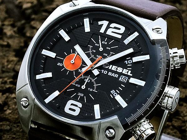 レビューで次回2000円オフ 直送 ディーゼル DIESEL クロノグラフ 腕時計 DZ4204