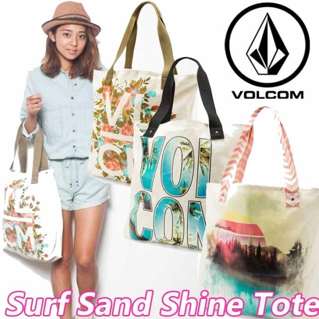 volcom ボルコム トートバッグ レディース Surf Sand Shine Tote VOLCOM ヴォルコム トート 【返品種別SALE】
