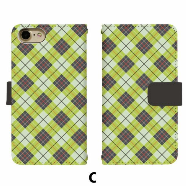 スマホケース 手帳型 Disney Mobile DM-02H 携帯ケース DM-02H チェック docomo Disney Mobile カバー di106