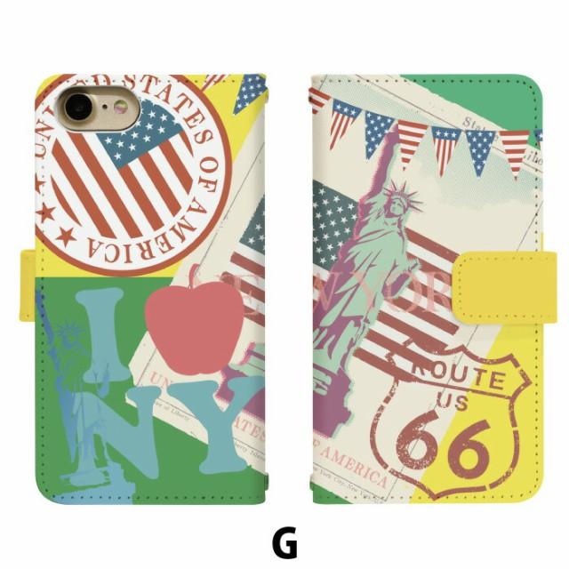 スマホケース 手帳型 アイフォン6s iPhone6s 携帯ケース iPhone6s 自由の女神 apple iPhone カバー di151