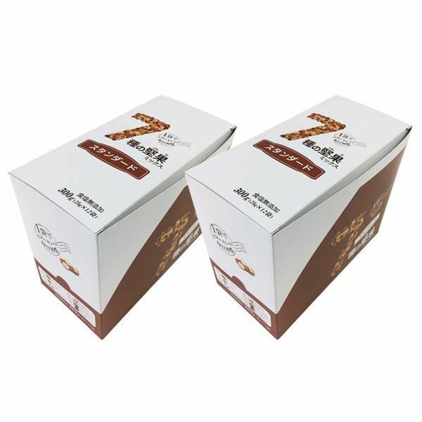 7種の堅果ミックス スタンダード (7種のナッツ&ドライフルーツ) (25g×12袋)×2セット