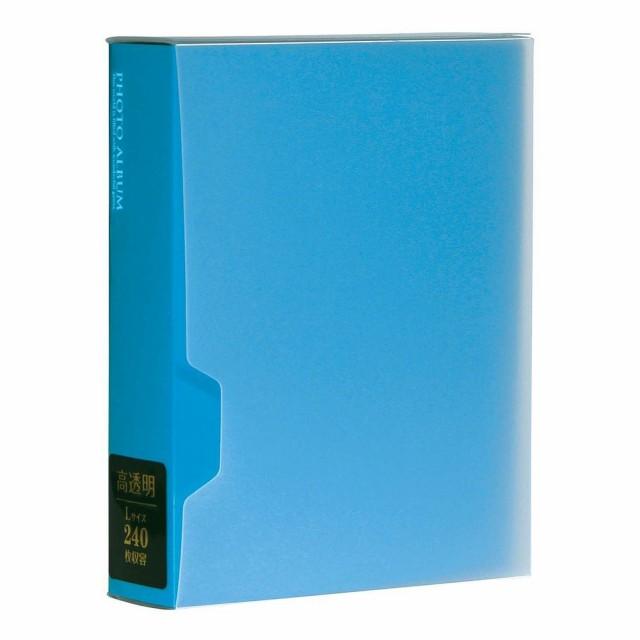 セキセイ ポケットフォトアルバム 高透明 Lサイズ80枚収容 ホワイト KP-80M-70