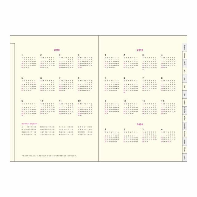 (まとめ買い)ダイゴー 手帳 2018年 コネクトグラフィック 1週間バーチカル+横罫 ELE B6 ブラック V2486 〔3冊セット〕