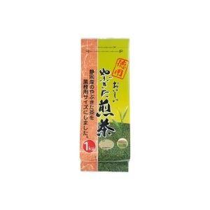 (業務用20セット) 大井川茶園 徳用おいしいやぶきた煎茶 1kg
