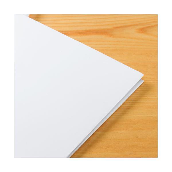 (まとめ) TANOSEE マットコート手提げ袋 ミニ ヨコ150×タテ170×マチ幅70mm ホワイト 1パック(10枚) 〔×5セット〕
