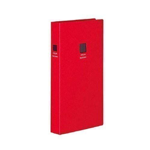 (まとめ買い)コクヨ ポシェットアルバム 黒台紙 A4スリム L 300枚 赤 ア-NP930R 〔3冊セット〕