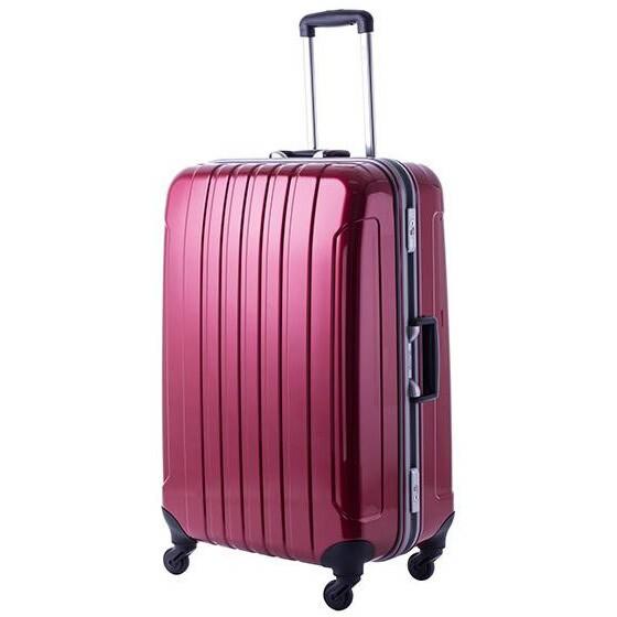 協和 MANHATTAN EXP (マンハッタンエクスプレス) 軽量スーツケース フリーク Lサイズ ME-22 レッド・53-20033