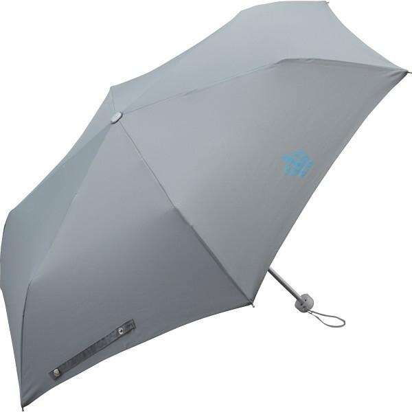 イルムス 折りたたみ傘 グレー  K-IL1486GRY  【ギフト対応不可】