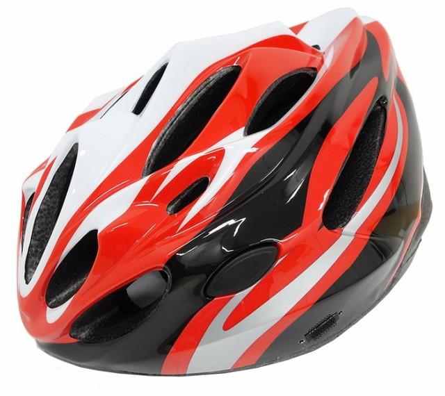 【Palmy Sports(パルミースポーツ)】 PS-MV28 P.S. Bicycle Helmet  レッド(M/L) 大人用サイクル