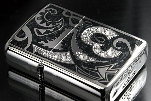 【ZIPPO】Newアーマーダイヤルジッポ ブラック画像2