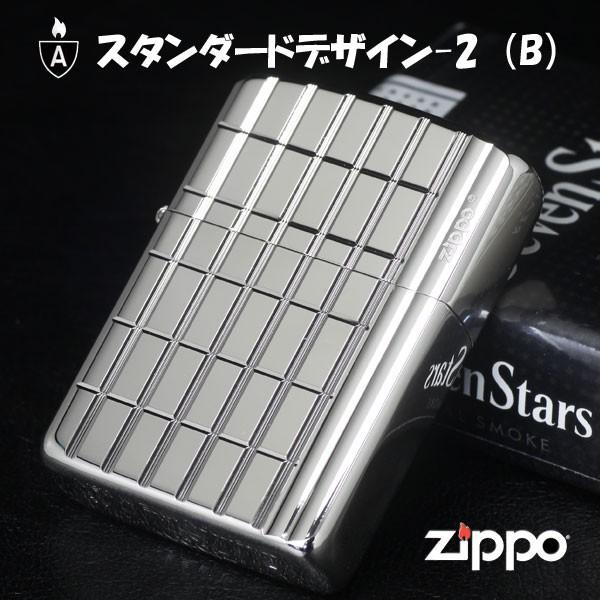 zippo(ジッポーライター)アーマースタンダードデザイン2(B) 16SD2-PB 画像1