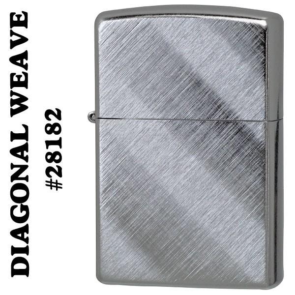 ZIPPO(ジッポー) DIAGONAL WEAVE(両面)28182