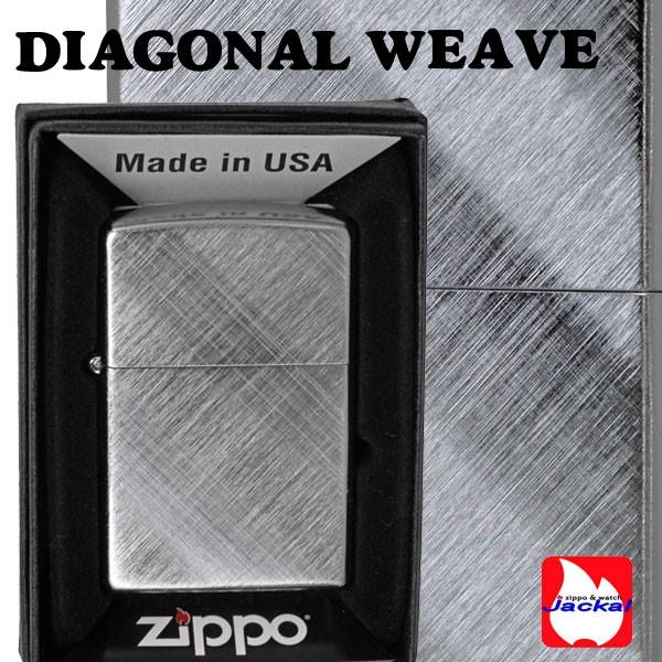 zippo(ジッポーライター)DIAGONAL WEAVE(両面)28182 画像3