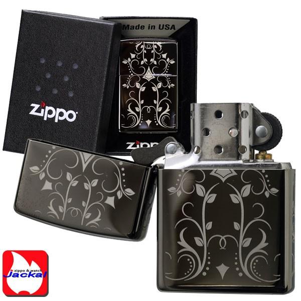 zippo(ジッポーライター)Filigree Pattern (フィルグリ-パターン) Black Ice #28833 画像3