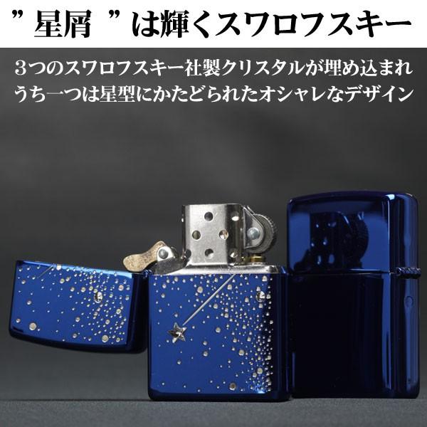zippo(ジッポーライター)ナイトドロップジッポライター イオンブルー 2ND-BL2 画像2
