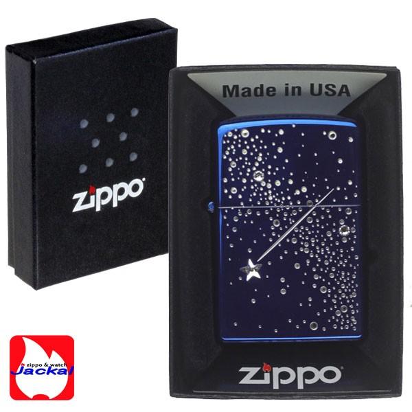 zippo(ジッポーライター)ナイトドロップジッポライター イオンブルー 2ND-BL2 画像3