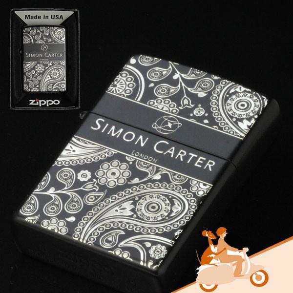 zippo ジッポライター SIMON CARTER サイモンカーターベイズリー 画像3