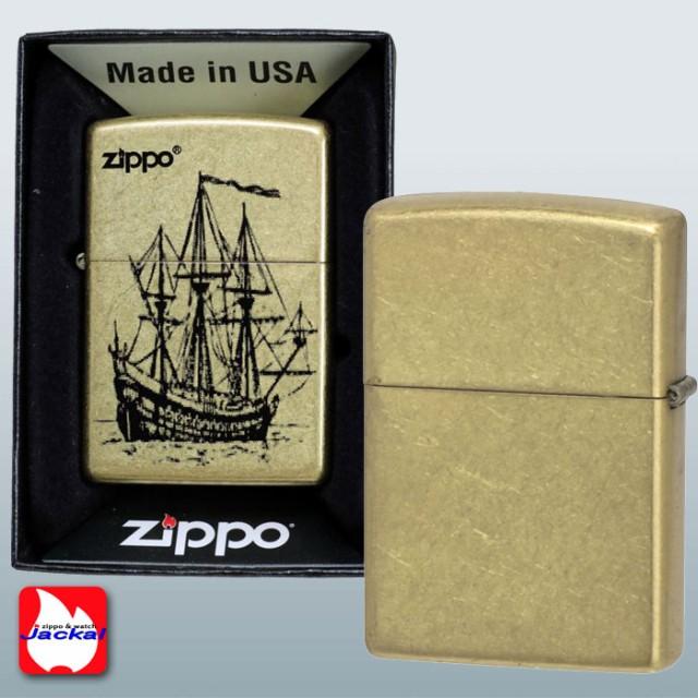 zippo(ジッポーライター)帆船 200ベース ハンセン Gバレル ゴールドバレル 画像3