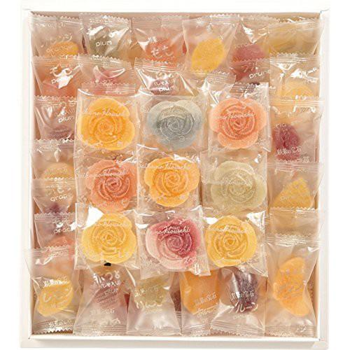 彩果の宝石 バラエティ花ゼリー入り(フルーツゼリー50個、花ゼリー13個 計63個入)