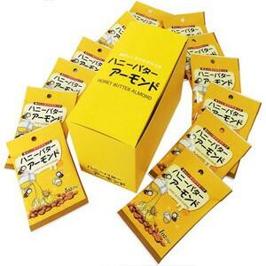 カリフォルニア堅果 ハニーバターアーモンド 28g×12袋