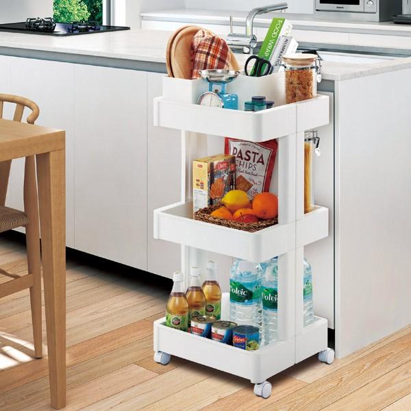 キッチン収納 スマートワゴン Fit W350 3段 F2590  [01]