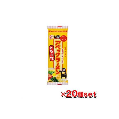 【ケース販売】五木食品 アベックラーメン とんこつ味 180g x20個セット