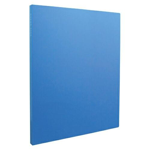 [セキセイ] クリヤーファィル 高透明 A4 20ポケット ブルー KP-2512-10
