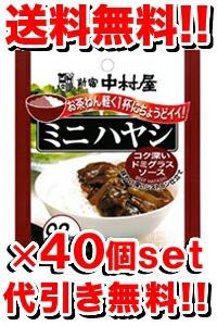 新宿中村屋ミニハヤシ 100g [40個セット](1ケース) (レトルト食品/レトルトカレー)