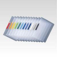クリップインファイル [SSS-105-13] 1冊 A4判タテ型 本体色:スカイブルー