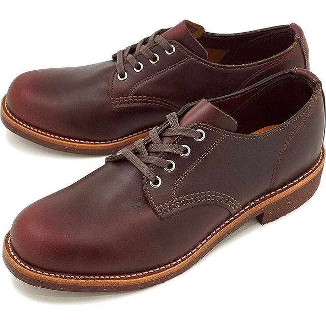 チペワ 4インチ サービス オックスフォード シューズ CHIPPEWA メンズ 革靴 Dワイズ コードバン (CP1901M74)
