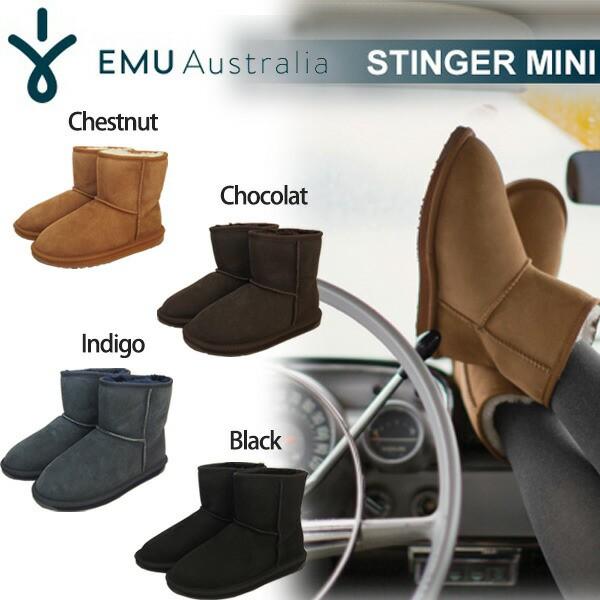 エミュ,EMU,ムートンブーツ STINGER MINI,stingermini