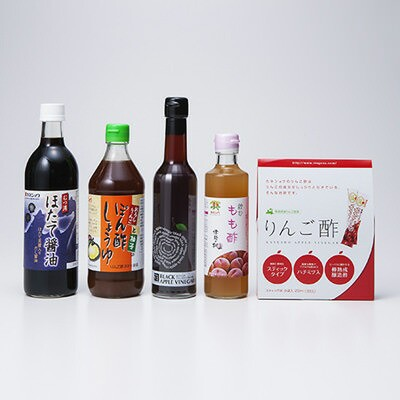 津軽で創業100余年。醸造業一筋のカネショウがお届けする ニッポンセレクトスペシャルセット カネショウ株式会社・青森県
